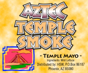 Herbal Smoke Shop Blend - Aztec Temple Herbal Smoke Blend